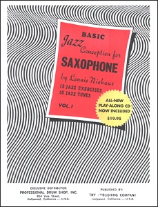 Jazz Conception for Saxophone