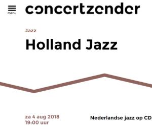 Concertzender Jan Verweij 4-8-2018